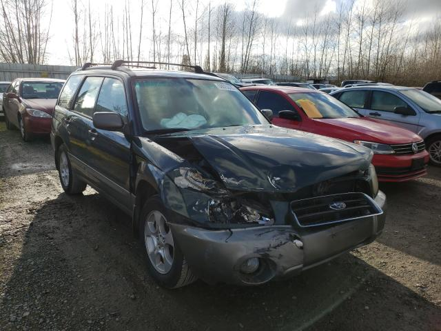 Salvage cars for sale from Copart Arlington, WA: 2004 Subaru Forester 2