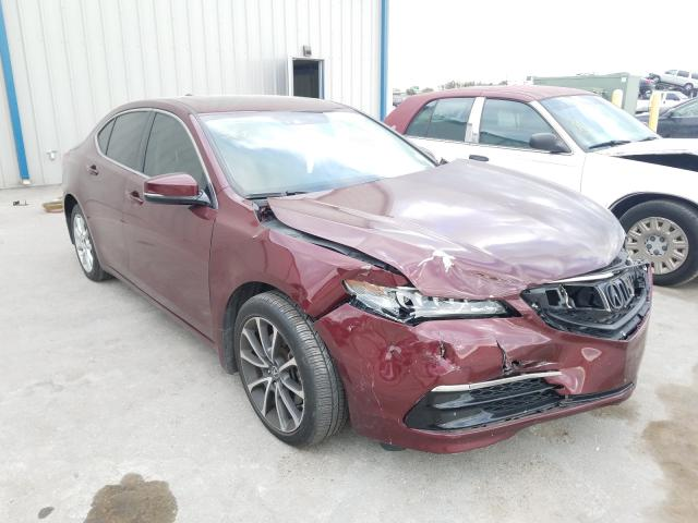 Acura TLX Tech Vehiculos salvage en venta: 2015 Acura TLX Tech