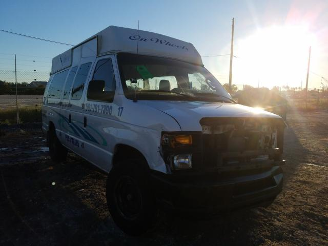 Salvage cars for sale from Copart West Palm Beach, FL: 2014 Ford Econoline