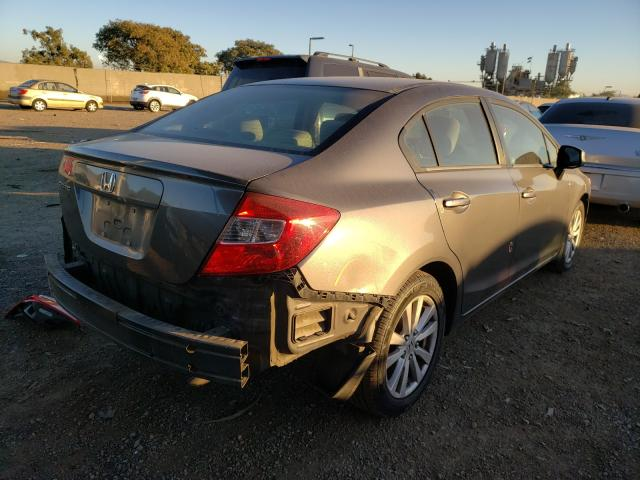 цена в сша 2012 Honda Civic Ex 1.8L 2HGFB2F83CH570427