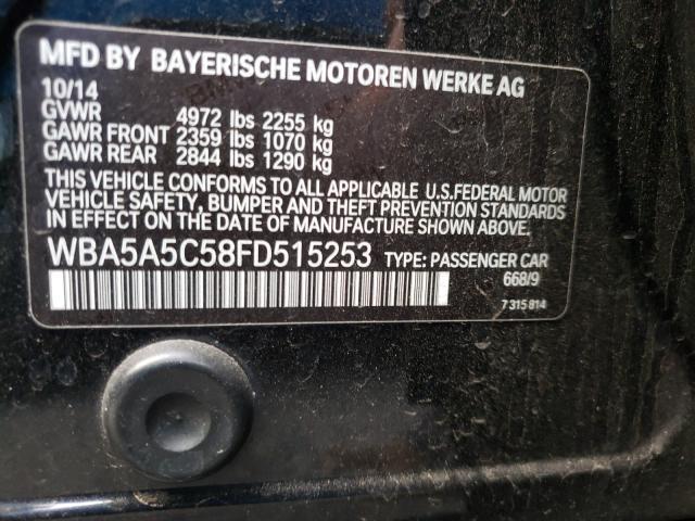 WBA5A5C58FD515253 2015 Bmw 528 I 2.0L