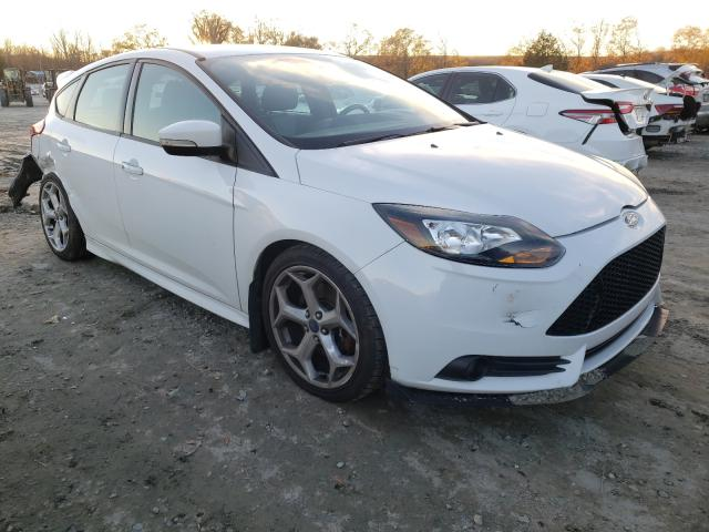 Salvage cars for sale from Copart Spartanburg, SC: 2013 Ford Focus ST