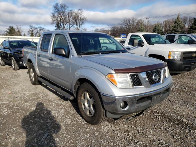 Salvage cars for sale from Copart Albany, NY: 2007 Nissan Frontier C