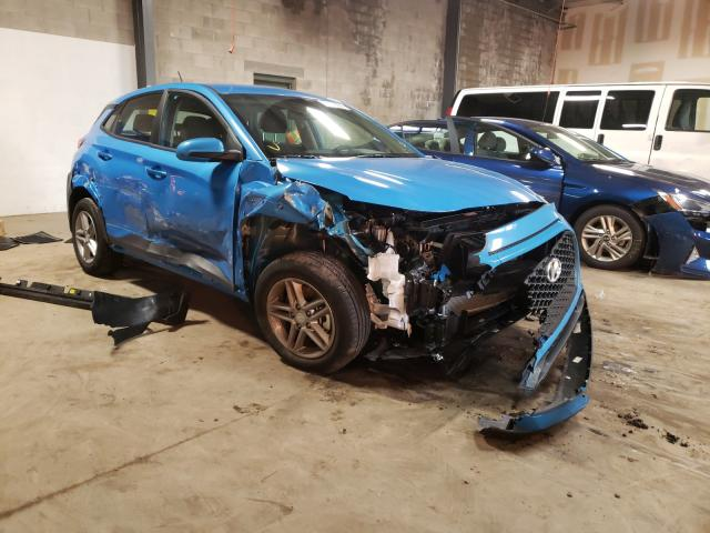 Salvage cars for sale from Copart Chalfont, PA: 2021 Hyundai Kona SE