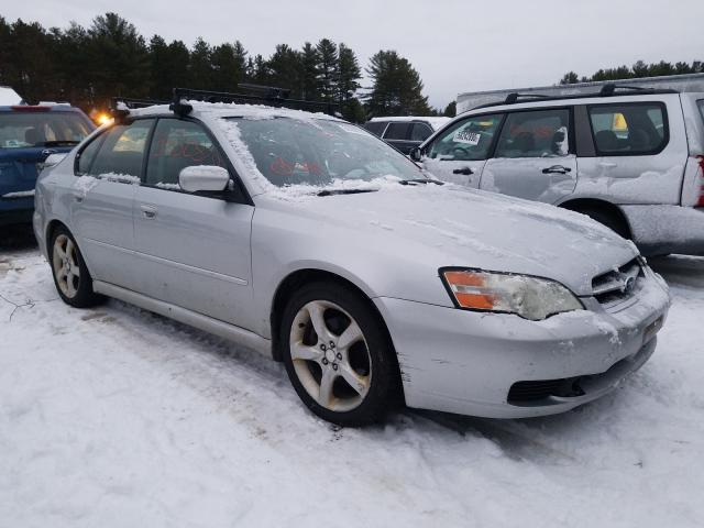 Salvage cars for sale from Copart Lyman, ME: 2006 Subaru Legacy 2.5