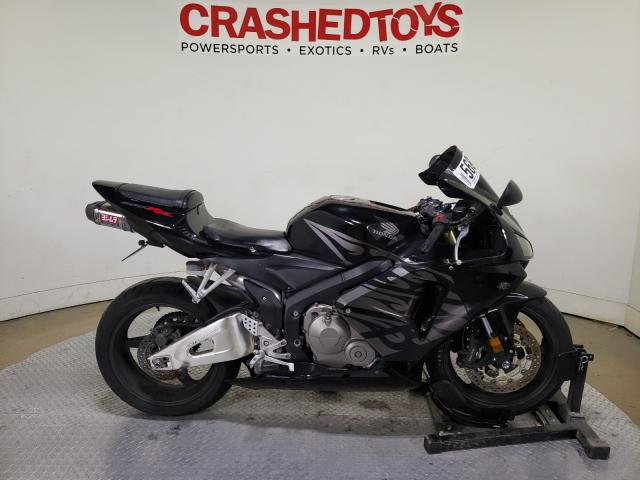 Salvage cars for sale from Copart Dallas, TX: 2005 Honda CBR600 RR