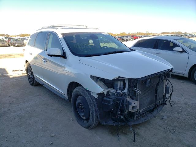 Salvage cars for sale from Copart Temple, TX: 2016 Infiniti QX60