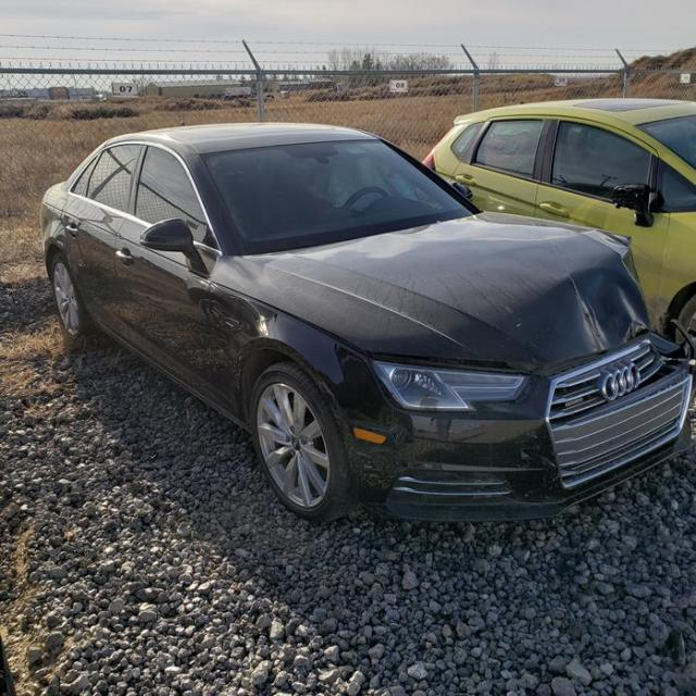Salvage cars for sale from Copart Rocky View County, AB: 2017 Audi A4 Premium