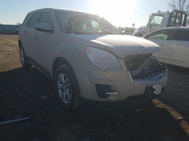 Salvage cars for sale from Copart Wichita, KS: 2012 Chevrolet Equinox LS