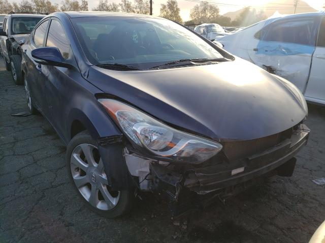 Salvage cars for sale from Copart Colton, CA: 2011 Hyundai Elantra GL
