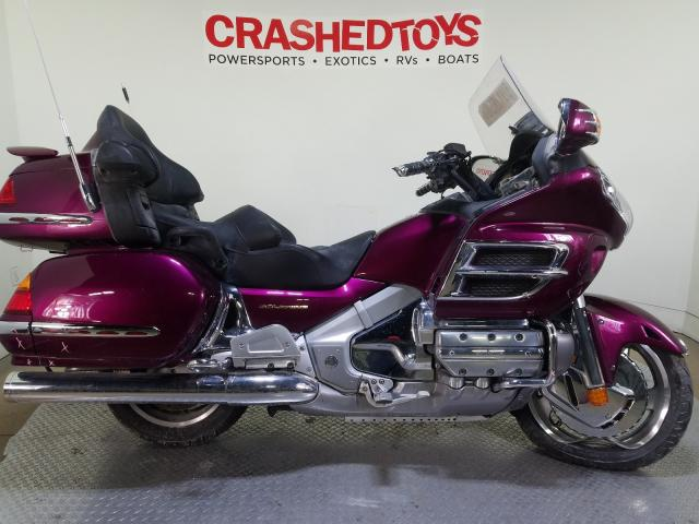 Salvage cars for sale from Copart Dallas, TX: 2004 Honda GL1800