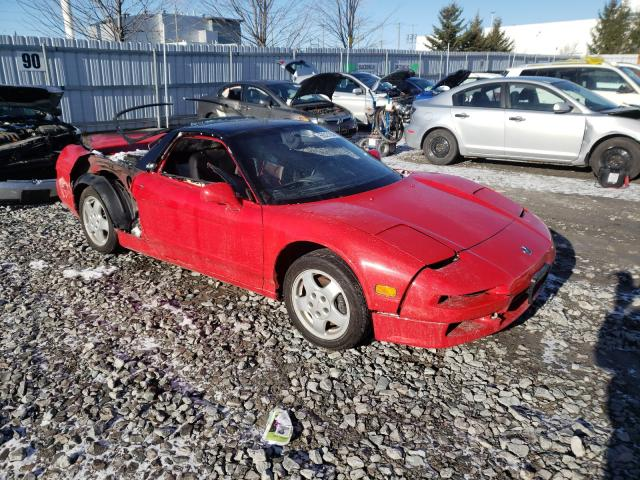 Acura NSX salvage cars for sale: 1991 Acura NSX