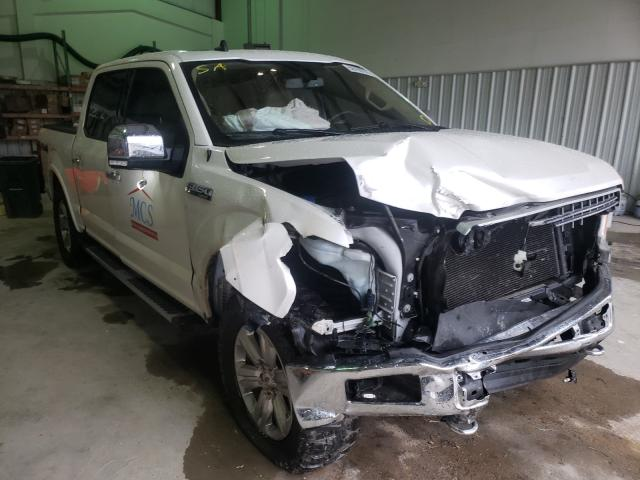 Salvage cars for sale from Copart Florence, MS: 2019 Ford F150 Super