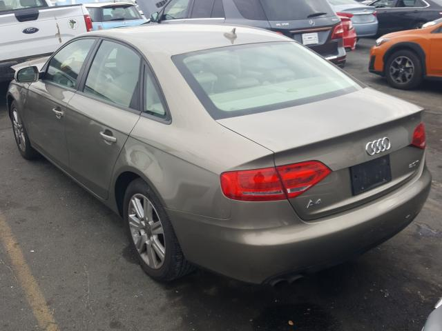 купить 2010 Audi A4 Premium 2.0L WAUAFAFL0AN030000