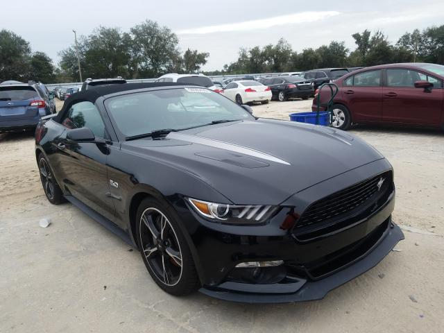 Salvage cars for sale from Copart Riverview, FL: 2017 Ford Mustang GT