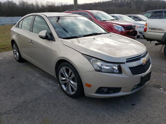 Salvage cars for sale from Copart Lawrenceburg, KY: 2012 Chevrolet Cruze LTZ