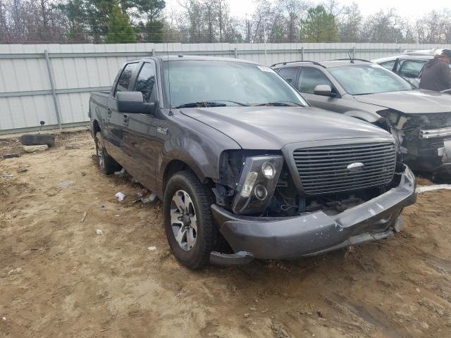 Salvage cars for sale from Copart Gaston, SC: 2008 Ford F150 Super