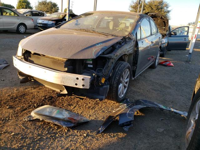 из сша 2012 Honda Civic Ex 1.8L 2HGFB2F83CH570427