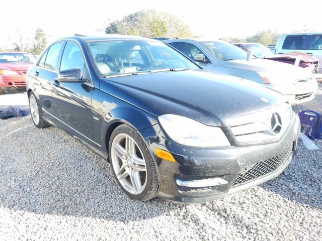 Salvage cars for sale from Copart Theodore, AL: 2012 Mercedes-Benz C 250