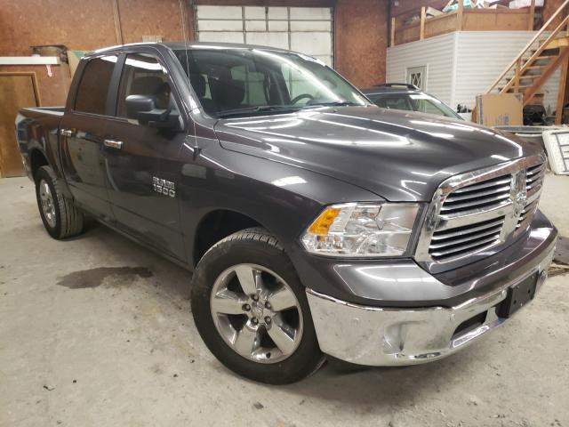 Salvage cars for sale from Copart Ebensburg, PA: 2018 Dodge RAM 1500 SLT