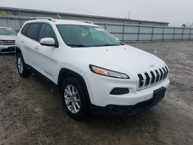 Salvage cars for sale from Copart Walton, KY: 2017 Jeep Cherokee L
