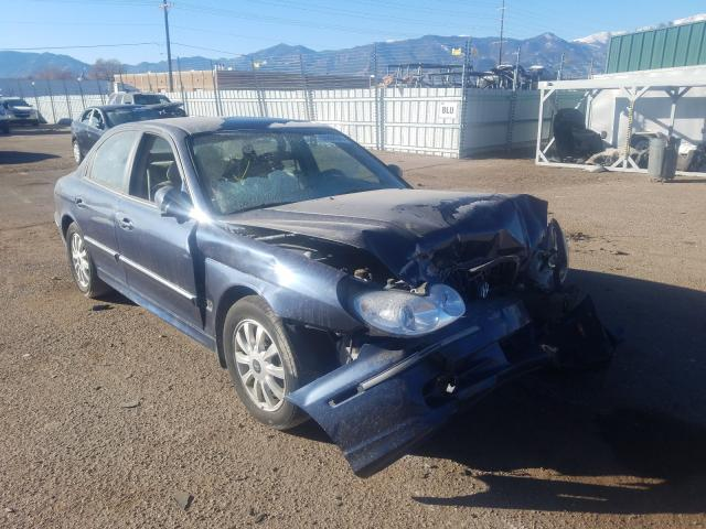 Hyundai salvage cars for sale: 2005 Hyundai Sonata GLS