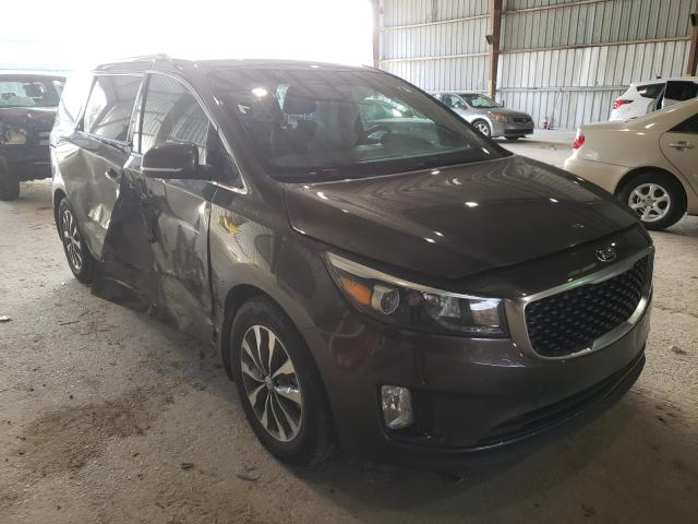 Salvage cars for sale from Copart Greenwell Springs, LA: 2018 KIA Sedona EX