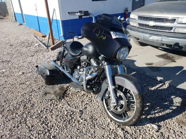 Salvage cars for sale from Copart Farr West, UT: 2014 Harley-Davidson Flhxs Street