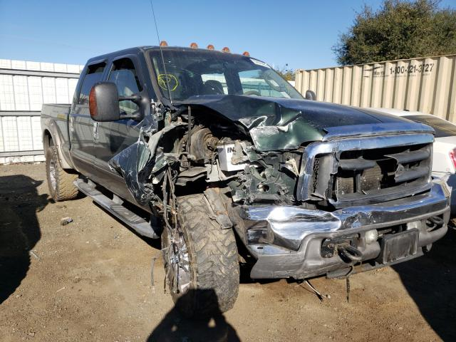 Salvage cars for sale from Copart San Diego, CA: 2003 Ford F350 SRW S
