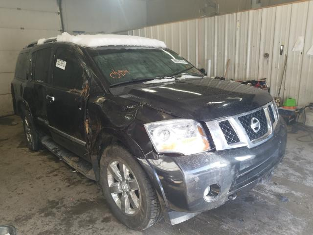 Salvage cars for sale from Copart Lyman, ME: 2012 Nissan Armada SV