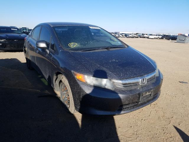 Salvage cars for sale from Copart Amarillo, TX: 2012 Honda Civic LX