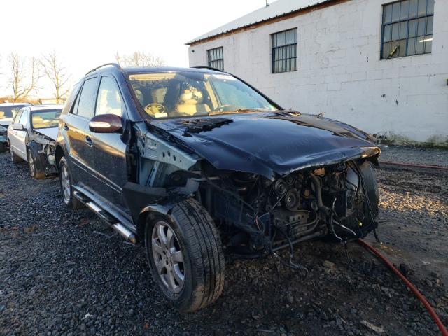 Vehiculos salvage en venta de Copart Hillsborough, NJ: 2007 Mercedes-Benz ML 350
