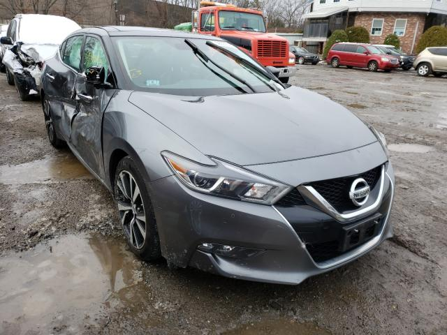 Salvage cars for sale from Copart North Billerica, MA: 2018 Nissan Maxima 3.5
