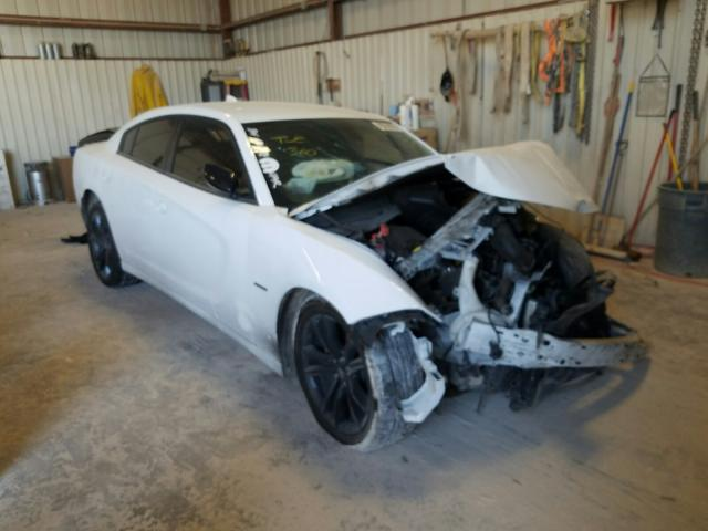 Salvage cars for sale from Copart Abilene, TX: 2018 Dodge Charger R