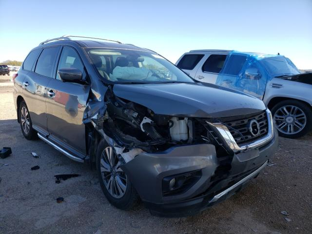 Salvage cars for sale from Copart Temple, TX: 2019 Nissan Pathfinder