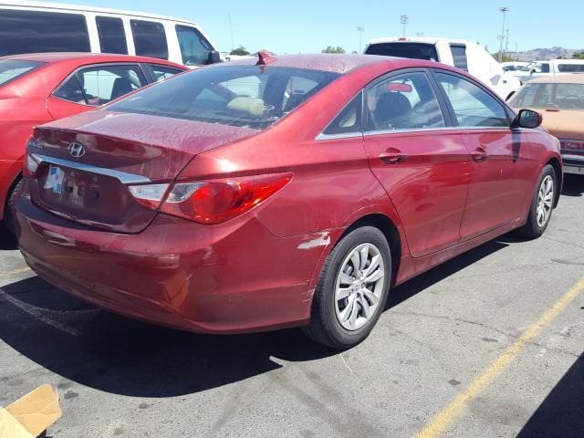 цена в сша 2011 Hyundai Sonata Gls 2.4L 5NPEB4AC1BH042831
