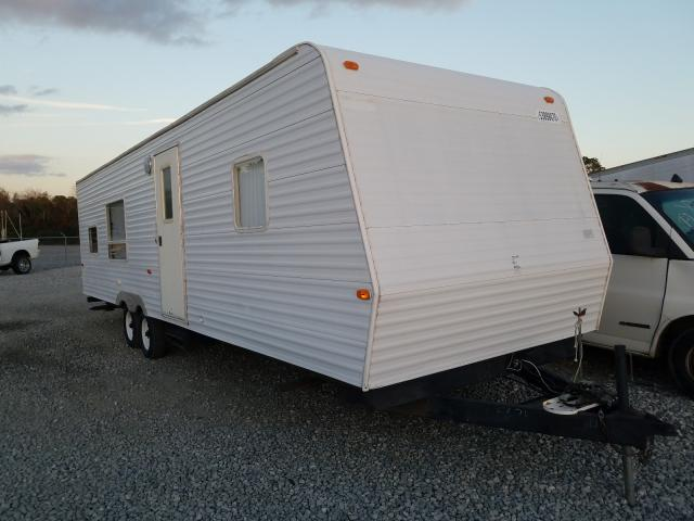 Keystone Travel Trailer salvage cars for sale: 2005 Keystone Travel Trailer