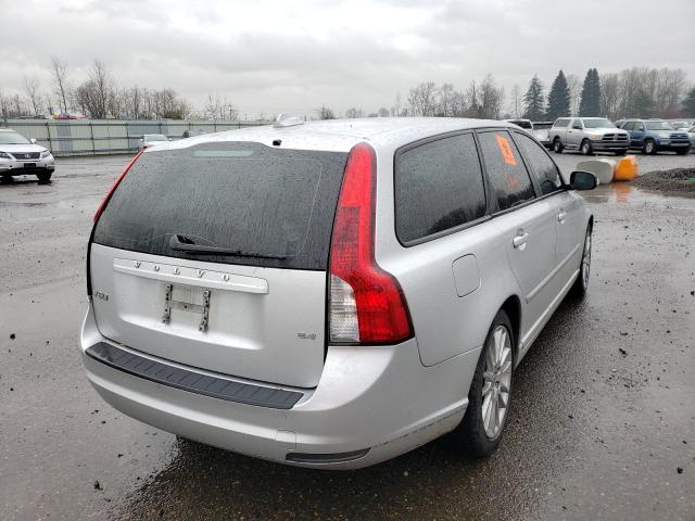 цена в сша 2010 Volvo V50 2.4I 2.4L YV1382MWXA2521680