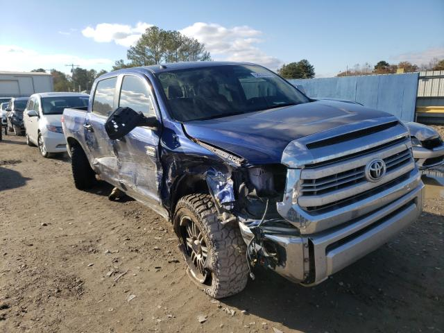 Salvage cars for sale from Copart Florence, MS: 2014 Toyota Tundra CRE