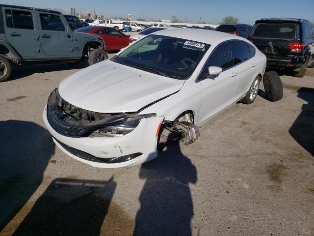из сша 2015 Chrysler 200 Limite 2.4L 1C3CCCAB8FN579504