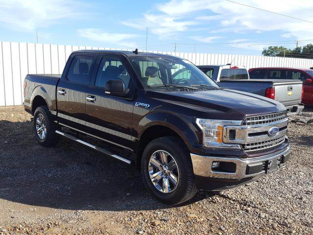 Salvage cars for sale from Copart Mercedes, TX: 2018 Ford F150 Super