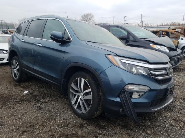 2018 Honda Pilot Elit en venta en Chicago Heights, IL