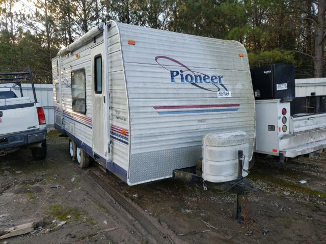 Pioneer Trailer salvage cars for sale: 2004 Pioneer Trailer
