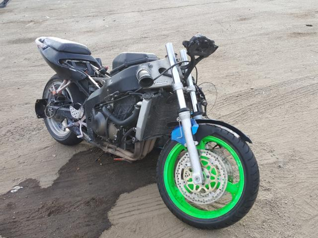 Salvage cars for sale from Copart Harleyville, SC: 2001 Kawasaki ZX600 J1