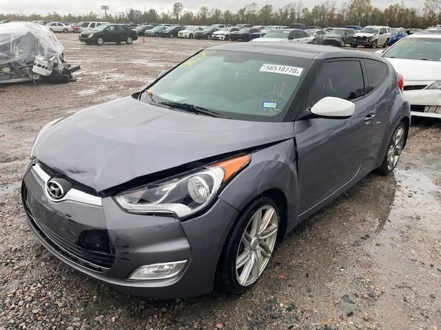 2016 HYUNDAI VELOSTER - Left Front View