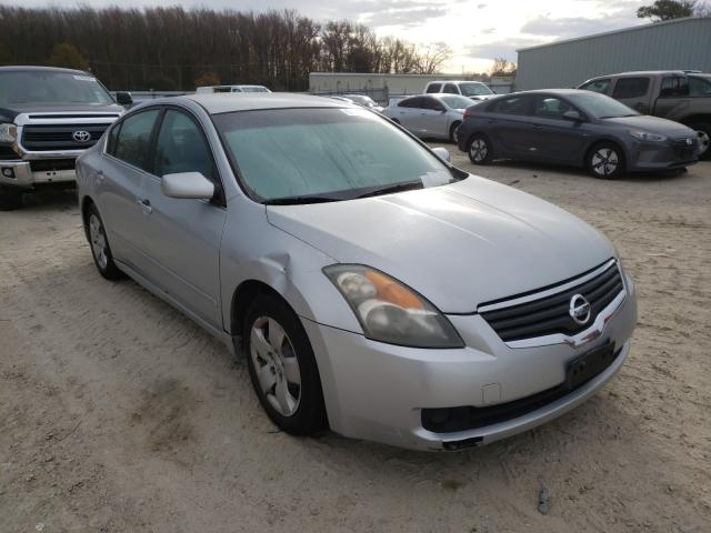 Salvage cars for sale from Copart Hampton, VA: 2007 Nissan Altima 2.5