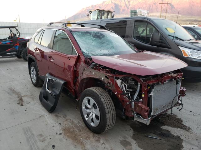 Salvage cars for sale from Copart Farr West, UT: 2020 Toyota Rav4 LE