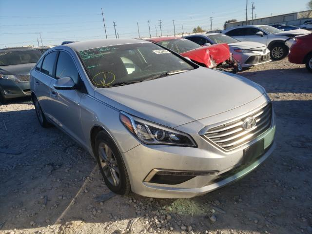 Salvage cars for sale from Copart Haslet, TX: 2015 Hyundai Sonata SE