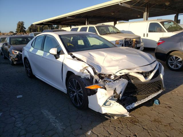 Salvage cars for sale from Copart Hayward, CA: 2020 Toyota Camry SE