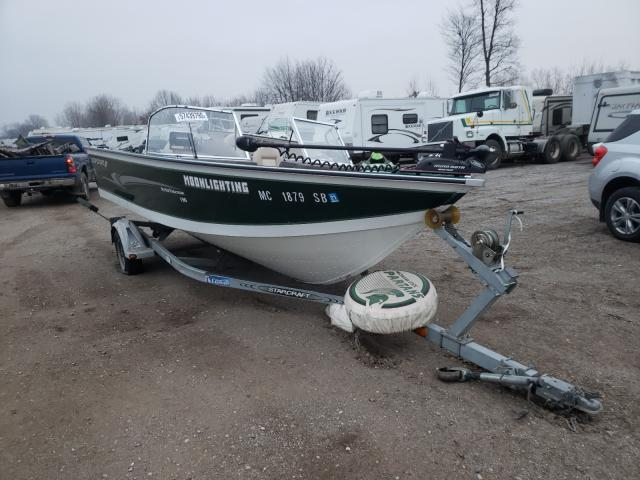 Salvage cars for sale from Copart Davison, MI: 2000 Starcraft Boat